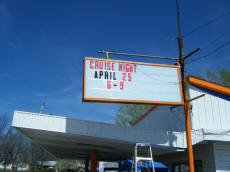 Cookees Drive-In New Changeable Letter Sign1