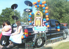 Cookees Drive-In Parade Float Entry 2008