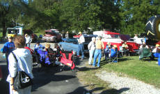 Cookees Gerneral Pleasonton Days Car Show Lots of People