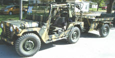 Cookees Drive-In 1975 M151A2 Mutt Military Jeep