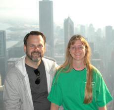 Becky and I In Chicago