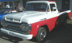 Cookees Drive-In 1960 Ford Pickup Truck