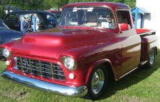 Cookees Drive-In 1955 Chevy Pickup