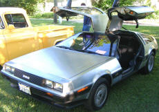 Cookees Drive-In Cruise Night 1981 DeLorean