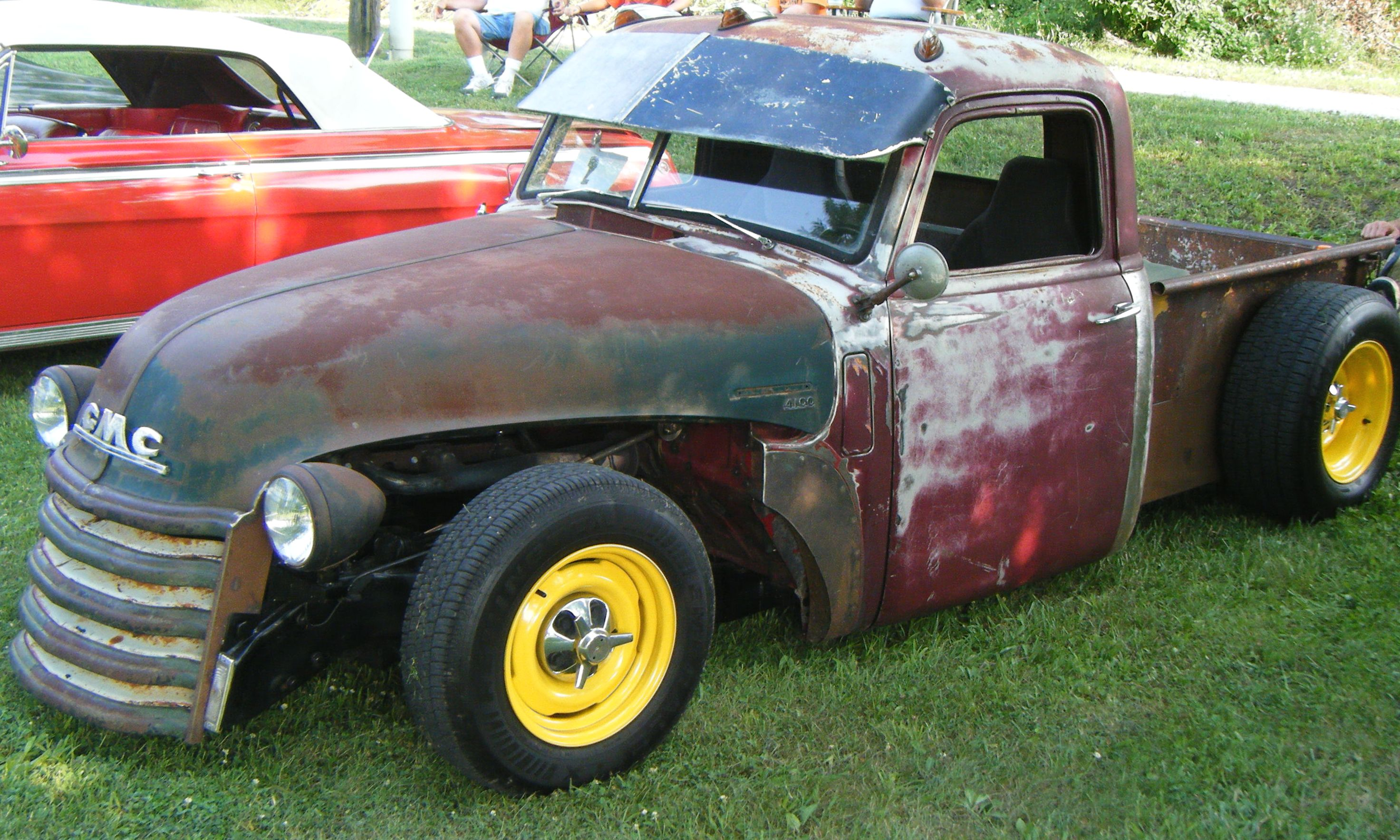 1955 Chevy Truck Rat Rod http://super-cars.net/1955-chevrolet-rat-rod-pickup-pick-up-truck-used-black/tedvernon.com*itemimages*55_Chevy_Rat_Rod-006.jpg/