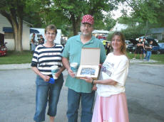 Cookees Drive-In Cruise Night Best Car Trophy Winner