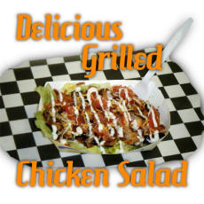 Cookees Drive-In Fresh Grilled Chicken Salads