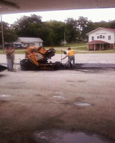 Cookees Drive-In New Parking Lot Asphalt Floater
