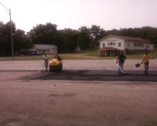 Cookees Drive-In New Parking Lot Asphalt Resurface Crew