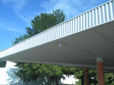 Fresh Paint On Cookees Drive-In Awning 2008