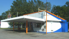 Cookees Drive-In New Paint Design 2008 Angle 1