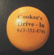 Cookees Drive-In Pleasonton Day Parade Antenna Topper1 2008