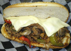 Cookees Drive-In Philly Cheesesteak Delicious 2008